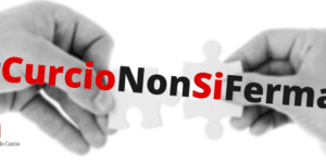Logo #curcioNonSiFerma
